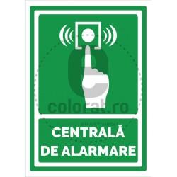 Centrala de Alarmare - Verde