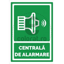 Centrala de Alarmare Sirena Verde