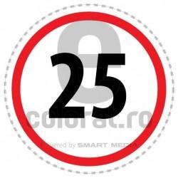 Limita Viteza 25