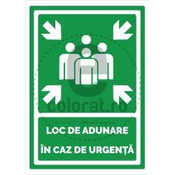 Loc de Adunare in Caz de Urgenta