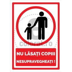 Nu Lasati Copiii Nesupravegheati