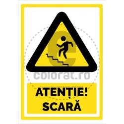 Atentie Scara