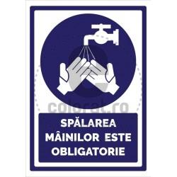 Spalarea Mainilor este Obligatorie