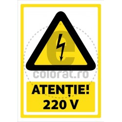 Atentie 220 V