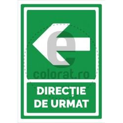 Directie de Urmat Stanga