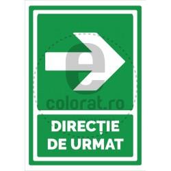 Directie de Urmat Dreapta