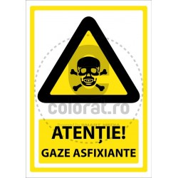 Atentie Gaze Asfixiante