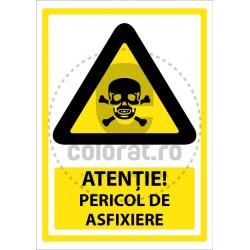 Atentie Pericol de Asfixiere