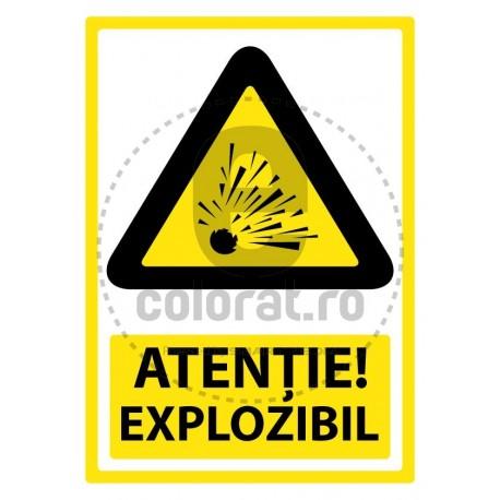 Atentie Explozibil