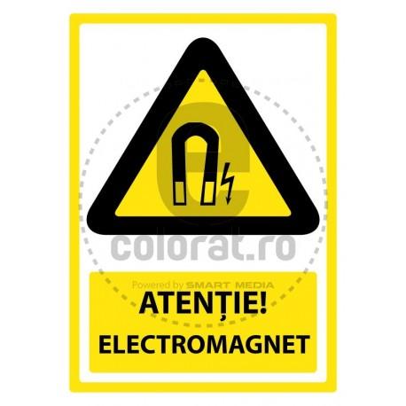 Atentie Electromagnet