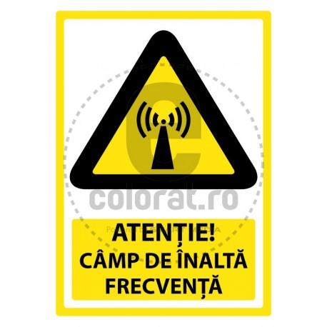 Atentie Camp de Intalta Frecventa