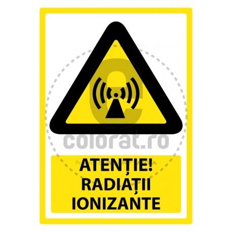 Atentie Radiatii Ionizante