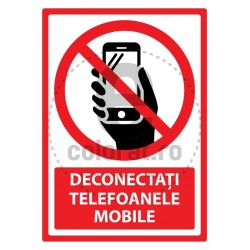 Deconectati Telefoanele Mobile