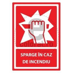 Sparge in Caz de Incendiu