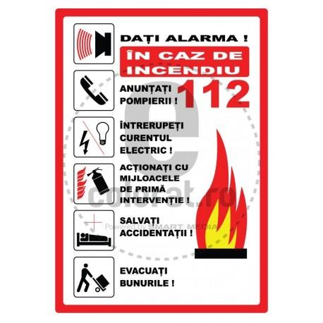 Dati Alarma in Caz de Incendiu