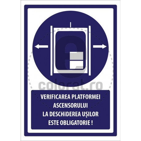 Verificare Platformei Ascensorului la Deschiderea Usilor este Obligatorie