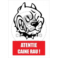 Atentie Caine Rau !