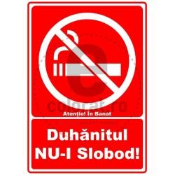 Duhanitul nu-i Slobod in Banat