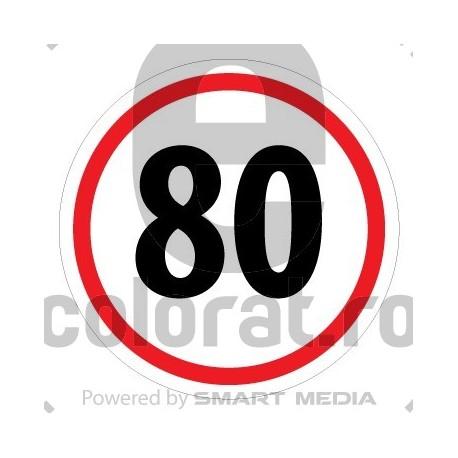 Limita Viteza 80