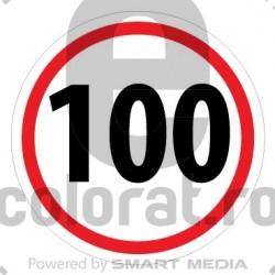 Limita Viteza 100