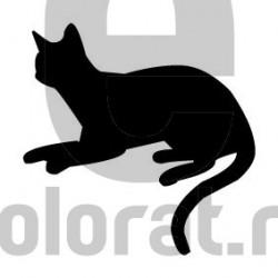 Sticker Decorativ Pisica - 2002