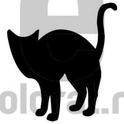 Sticker Decorativ Pisica - 2008
