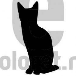 Sticker Decorativ Pisica - 2012