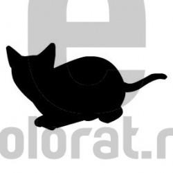 Sticker Decorativ Pisica - 2014