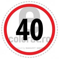Limita Viteza 40