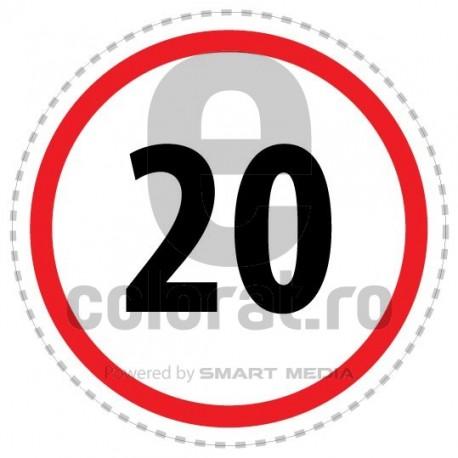 Limita Viteza 20