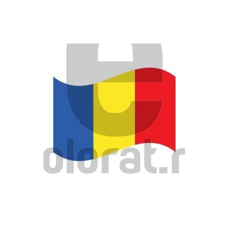 Sticker Auto Steag Romania V2