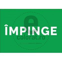 Impinge - model - verde - alb