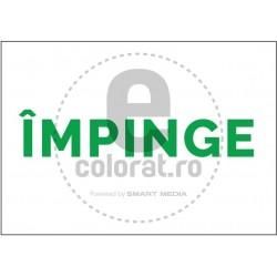Impinge - model - alb - verde