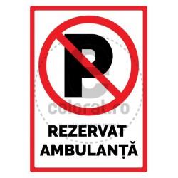 Rezervat Ambulanta