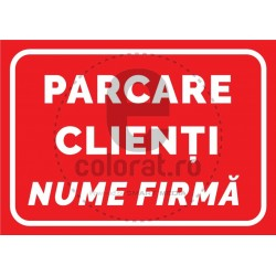 Parcare Clienti Nume Firma