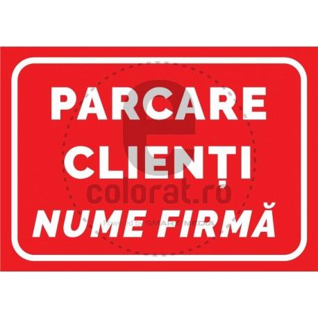 Parcare Clienti Nume Firma Companie
