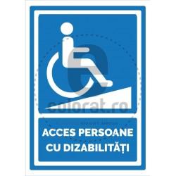 Acces Persoane cu Dizabilitati
