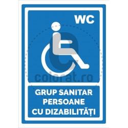 Grup Sanitar Persoane cu Dizabilitati