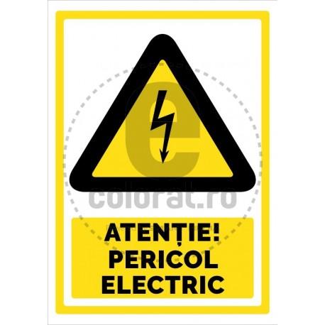 Atentie Pericol Electric