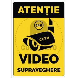 Atentie Video Supraveghere