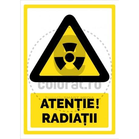 Atentie Radiatii